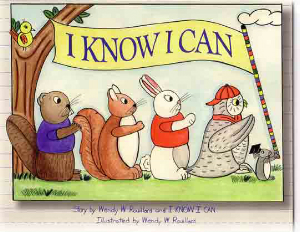 I Know I Can banner with animals on parade