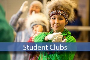 student clubs with native dancers